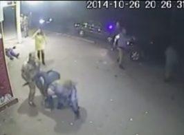 Вечерние разборки ополченцев ДНР.