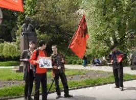 «Ополченцы купили БМ-21 «Град» в Африке. На Донбассе идет гражданская война» — митингующие 1-го мая в Киеве
