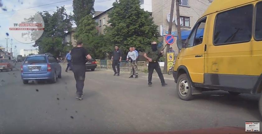 Видеозапись первого боя «Айдара» с российскими наёмниками. Рассекреченный военный архив АТО