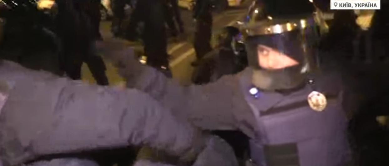 Противостояния в центре Киева. Прямая трансляция
