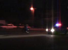 Ночная погоня полиции за наркоторговцами закончилась провалом. Видео