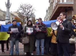 «Рабинович дал зеленый свет!» — активисты партии «За Життя» вышли к светофору