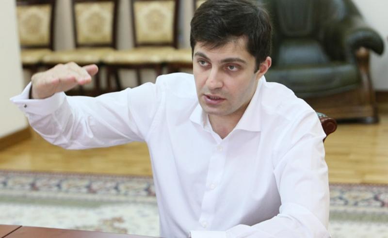 Сакварелидзе вместо ужина с протестующими у Верховной Рады выбрал GoodWine (видео)