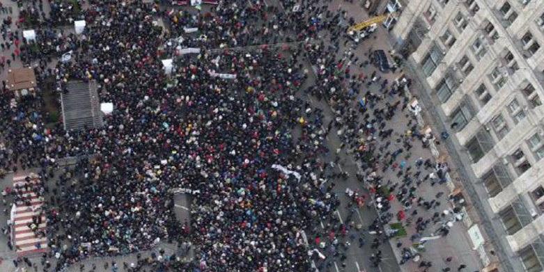«Кава на Хрещатику» — митинг противников Саакашвили (прямая трансляция)