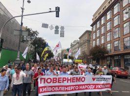 «Новый курс Тимошенко» или  кто и за сколько ходит на митинги «Батькивщины»