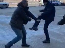 Лисичанский депутат Полупанов напал на журналиста «Голоса Народа»(Видео)