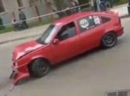 Предвыборный пиар на гонках чуть не закончился трагедией в Коломыи