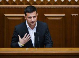 Зеленский обратился к депутатам перед завтрышним голосованием Рады по КСУ