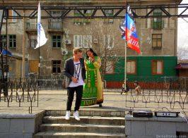ДНР привезли «Спанч Боба» в разрушенное Дебальцево
