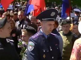 Наталья Витренко вместе с «сестрой» приняли участие в праздновании 9 мая