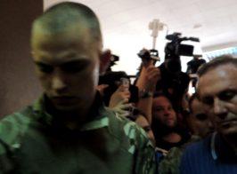 В суд Ефремову принесли донецкие сладости (видео)