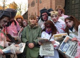 Известная своими выступлениями против российских фильмов, помощница нардепа Высоцкого, регулярно посещает Москву
