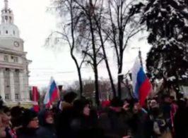 Во всех крупных городах России началась забастовка(прямая трансляция)